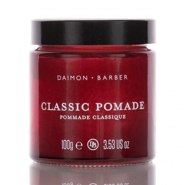 Daimon Barber Pomade Classic Pomade Medium Hold High Shine 100g 1