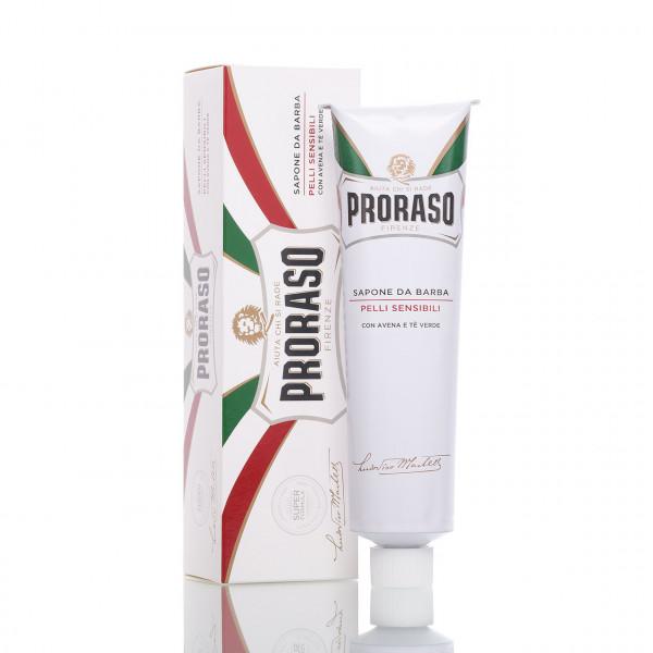 Proraso Rasiercreme Sensitive (White) in der Tube 150ml 1