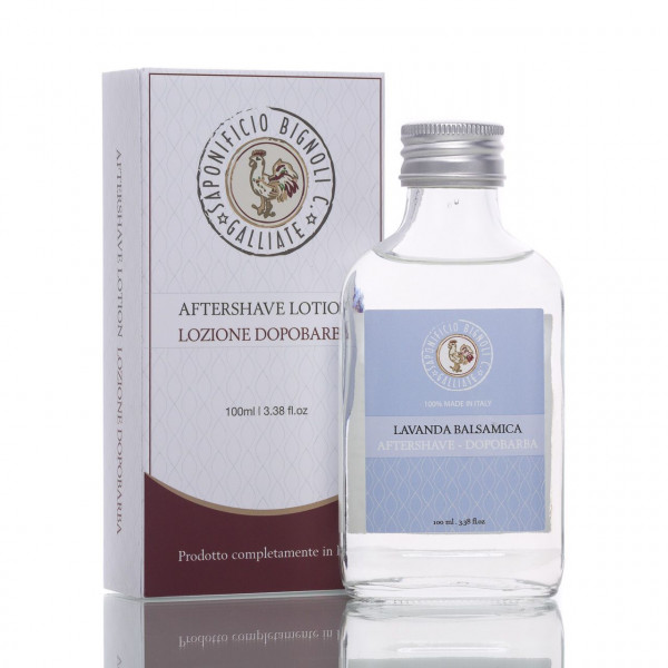 Saponificio Bignoli After Shave Lotion Lavendel 100ml 1