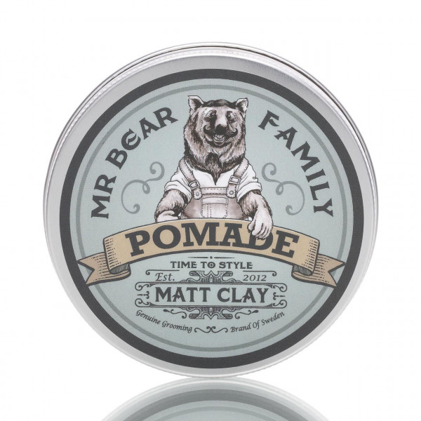 Mr. Bear Family Pomade Matte Clay 100ml 1