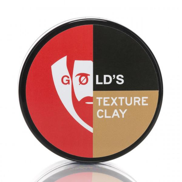 GØLD's Texture Clay Massiv 100ml Frontalansicht