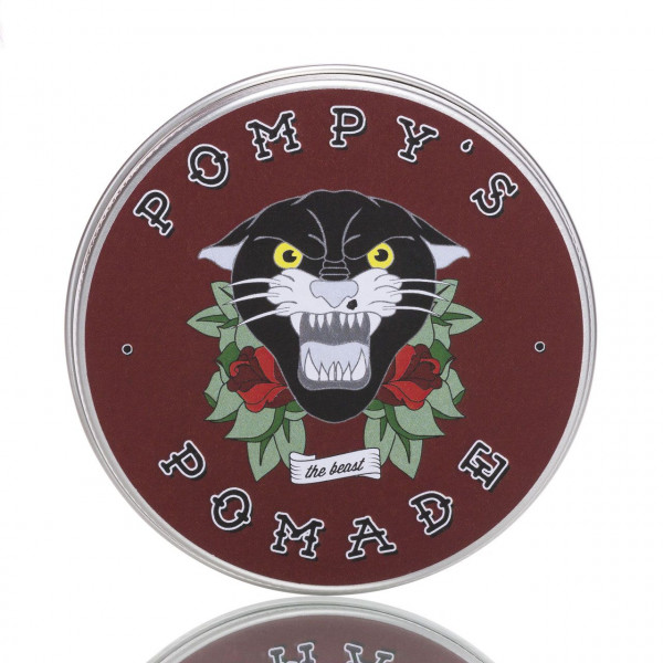 Pompy´s Pomade The Beast 100ml Frontalansicht der Dose