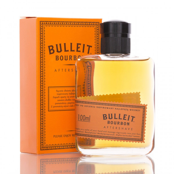 Pan Drwal After Shave Bulleit Bourbon 100ml mit Verpackung