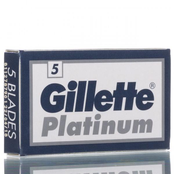 Gillette Rasierklingen Platinum, Double Edge (5 Stk.)