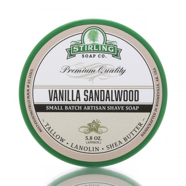 Stirling Soap Company Rasierseife Vanille & Sandelholz 170ml 1