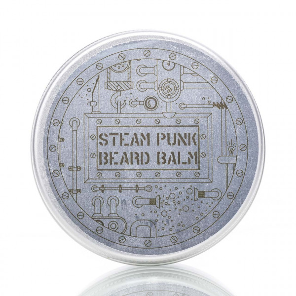 Pan Drwal Bartbalsam Steam Punk 50g Frontalansicht Dose