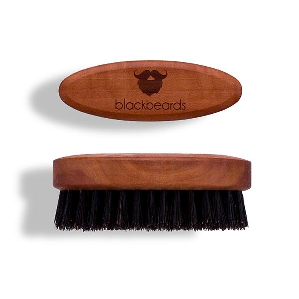Eine Bartbürste von blackbeards