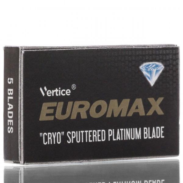 Euromax Rasierklingen Cryo Sputtered Platinum, Double Edge (5 Stk.)