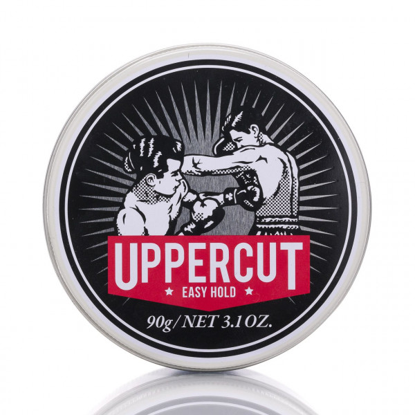 Uppercut Deluxe Pomade Easy Hold 90g Frontalansicht der Dose
