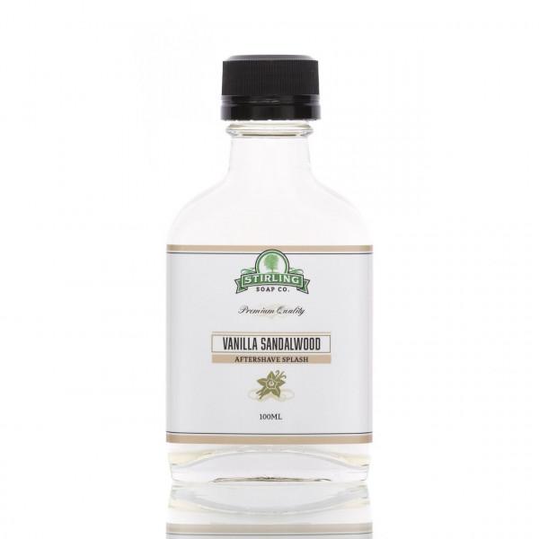 Stirling Soap Company After Shave Rasierwasser Vanille & Sandelholz 100ml