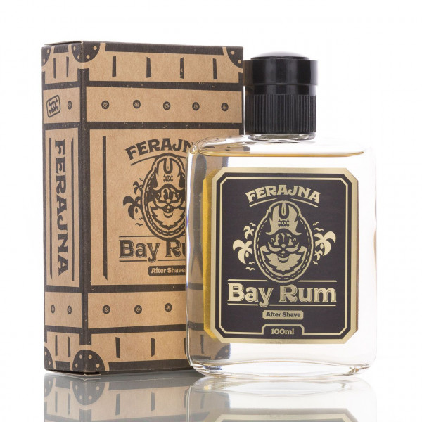 Pan Drwal After Shave Ferajna Bay Rum 100ml mit Verpackung
