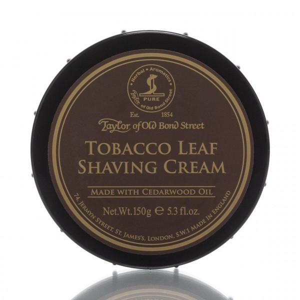 Taylor of Old Bond Street Rasiercreme Tobacco Leaf 150g 1