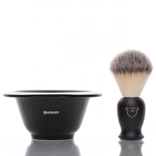 blackbeards Rasier Set aus Rasierpinsel und Rasierschale 1