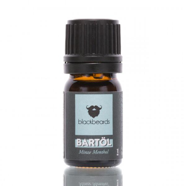 blackbeards Bartöl Minze Menthol Probe 5ml