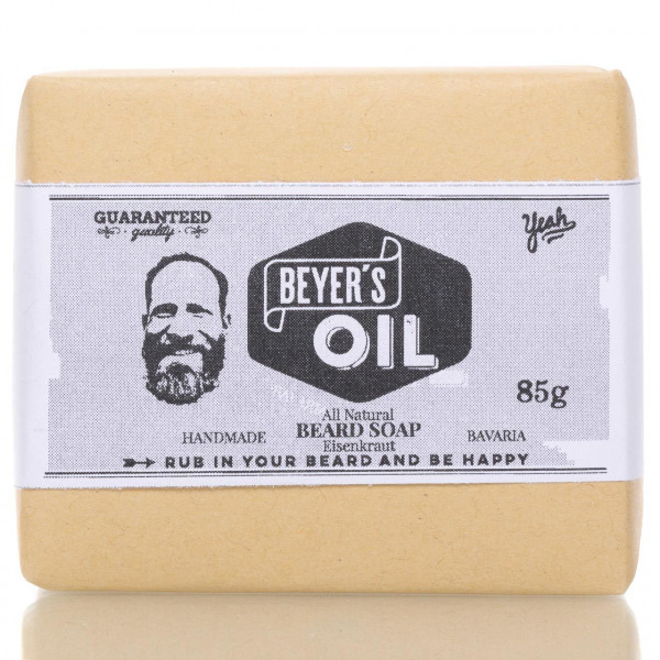 Beyer's Oil Bartseife Eisenkraut 85g