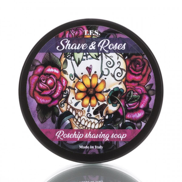 Tcheon Fung Sing Rasierseife Shave & Roses Rosehip 125ml 1