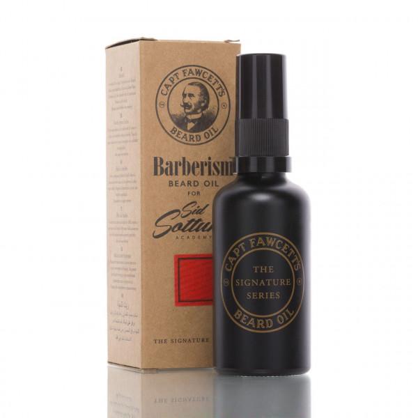 Captain Fawcett Bartöl Barberism 50ml mit Verpackung