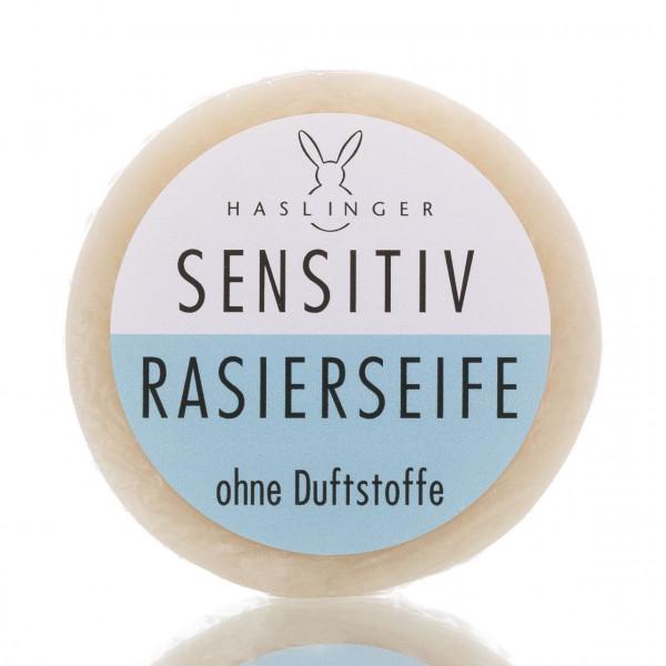 Haslinger Seifen & Kosmetik Rasierseife Sensitiv 60g