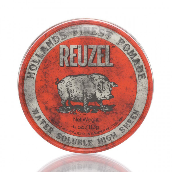 Reuzel Pomade Red - Water Soluble High Sheen 113g 1