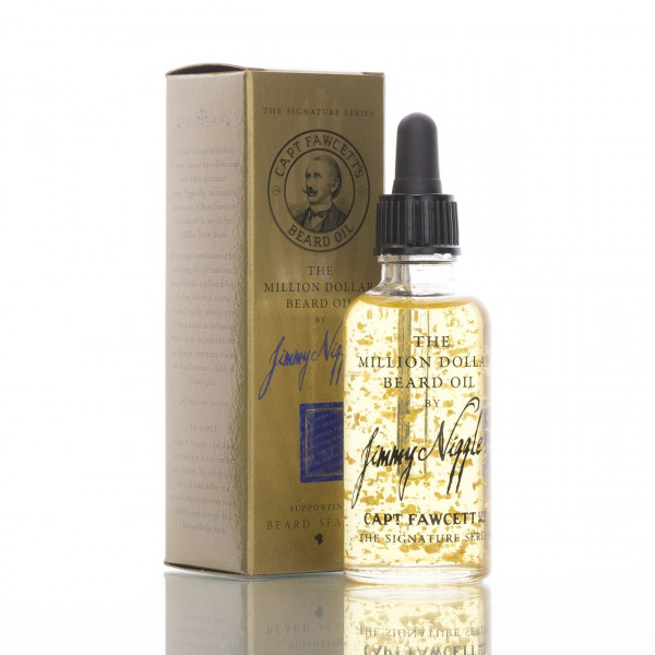 Captain Fawcett Bartöl Million Dollar Beard Oil by Jimmy Niggles 50ml 1