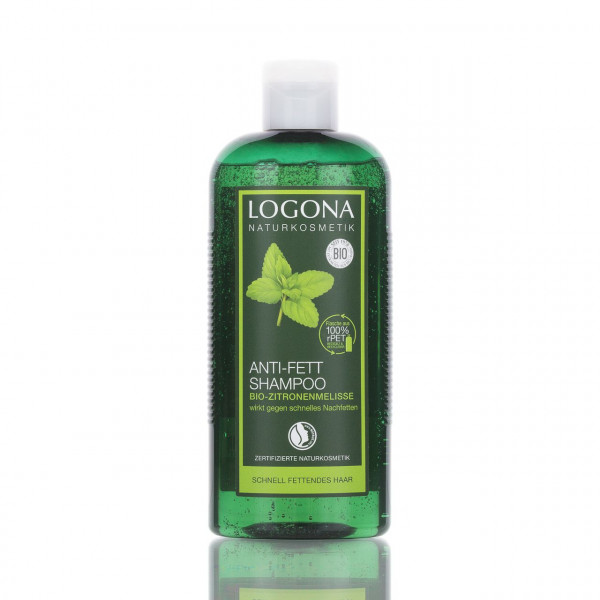 Logona Shampoo gegen fettiges Haar Bio-Zitronenmelisse 250ml