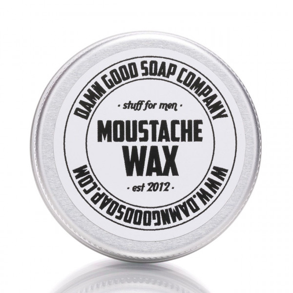 Damn Good Soap Company Bartwichse 15ml Frontalansicht der Dose