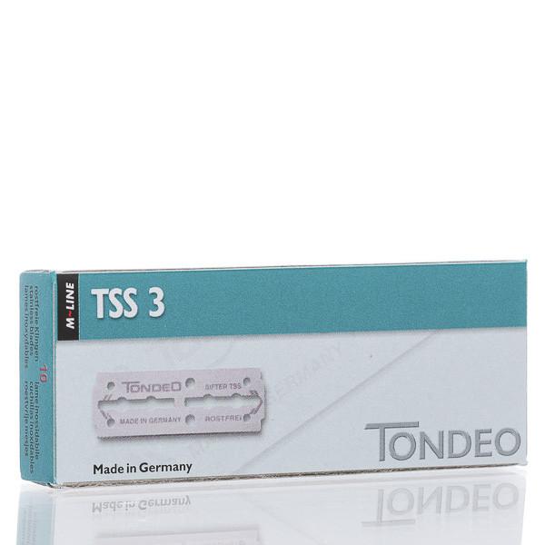 Tondeo Rasierklingen TSS3, Double Edge 65mm (10 Stk.)