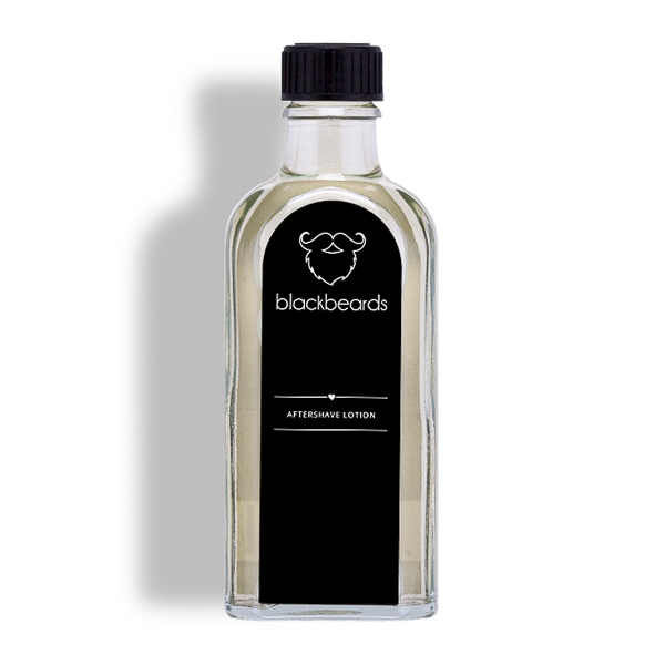 Eine After Shave Lotion von blackbeards