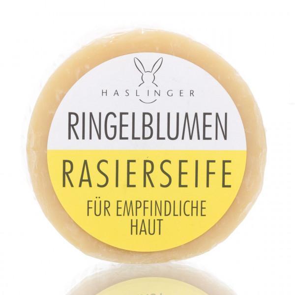 Haslinger Seifen & Kosmetik Rasierseife Ringelblume 60g