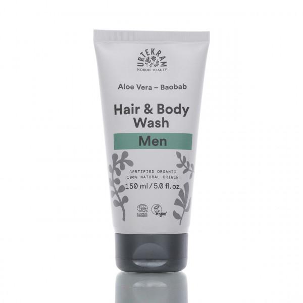 Urtekram Waschlotion für Haut & Haar Men 150ml