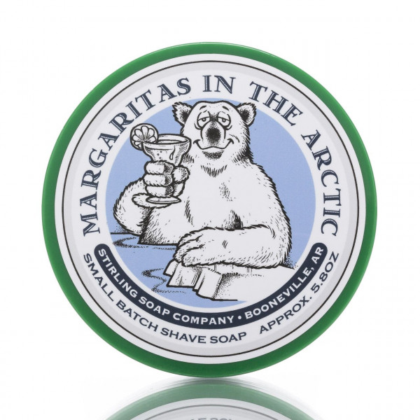Stirling Soap Company Rasierseife Margaritas in the Arctic 170ml 1