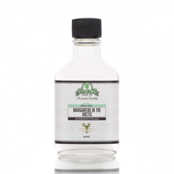Stirling Soap Company After Shave Rasierwasser Margaritas in the Arctic 100ml