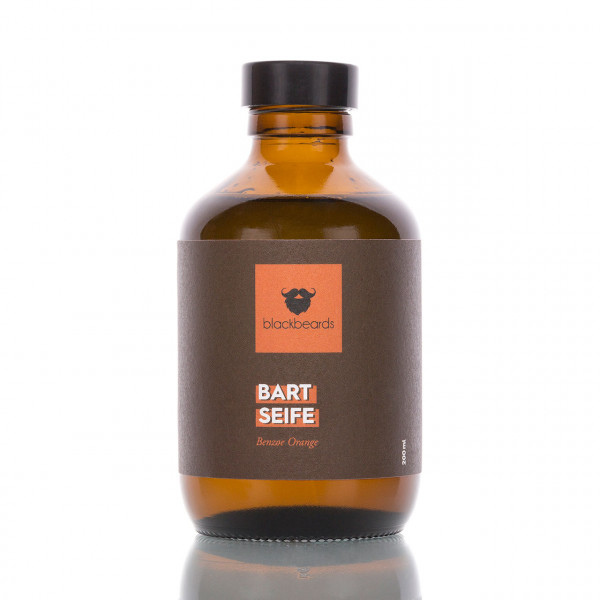 blackbeards Bartseife Benzoe Orange 200ml