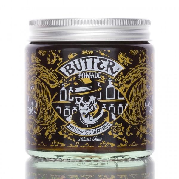Pan Drwal Butter Pomade Natural Shine 120g Frontalansicht der Dose