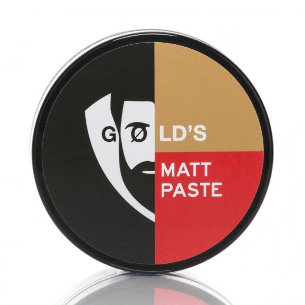 GØLD's Pomade Matte Paste Massiv 100ml 1
