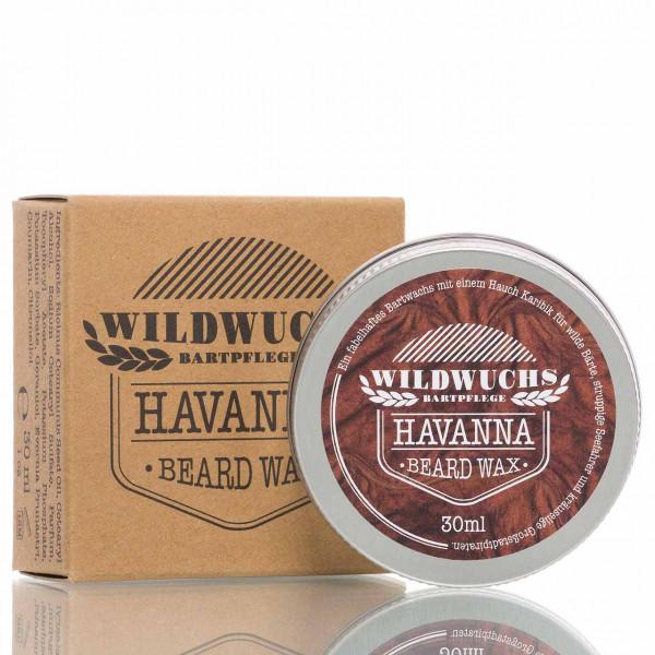 Wildwuchs Bartpflege Bartwachs Havanna 30ml 1