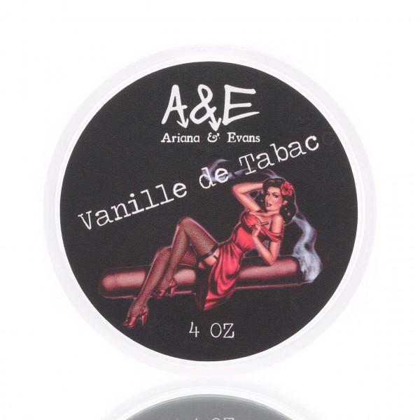 A&E Ariana & Evans Rasierseife Vanille de Tabac 100ml 1